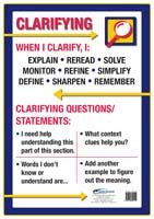 Poster: Strategies to Engage the Mind of the Learner: Reciprocal Teaching - Clarifying