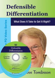 Defensible Differentiation: What Does It Take to Get It Right