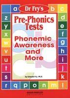 Dr. Fry's Pre-Phonics Tests
