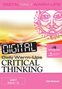 Digital Daily Warm-Ups: Critical Thinking Level 2 - Years 9-12