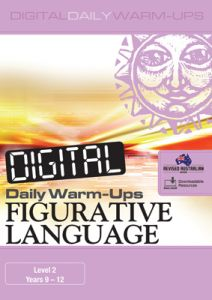 Digital Daily Warm-Ups: Figurative Language Level 2 – Years 9–12