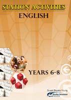 Station Activities English, Years 6-8