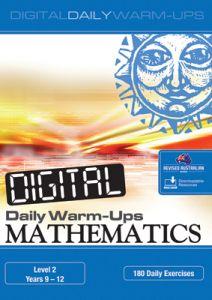 Digital Daily Warm-Ups: Mathematics Level 2 - Years 9-12
