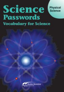 Science Passwords:  Vocabulary for Science - Physical Science (Student Book)