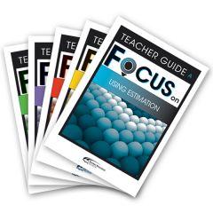 Focus: Using Estimation Mixed Pack Teacher Books A-E