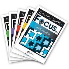 Focus: Using Algebra Mixed Pack Teacher Books A-E