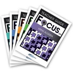 Focus: Using Algebra Mixed Pack Teacher Books D-H