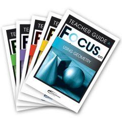 Focus: Using Geometry Mixed Pack Teacher Books A-E