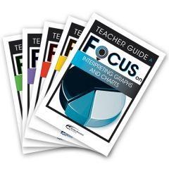 Focus: Interpreting Graphs and Charts Mixed Pack Teacher Books A-E