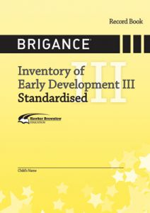 Brigance: IED III 2014: Standardised Record Book (Set of 100)