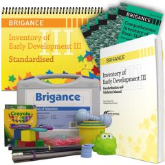Brigance: IED III 2014: Standardised Kit