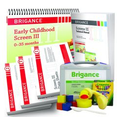 Brigance: Screens III Bundle 0-35 Months