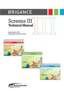 Brigance: Screens III: Technical Manual