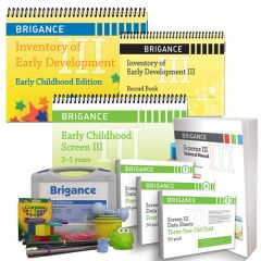 Brigance: Screens III + IED III Complete Assessment Bundle 3-5 Years