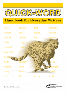 Quick-Word: Everyday Writers (Set of 5)