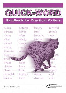 Quick-Word: Practical Writers (Set of 5)