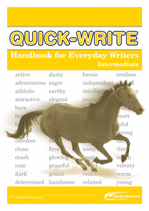 Quick-Write: Everyday Writers: Intermediate (Set of 5)
