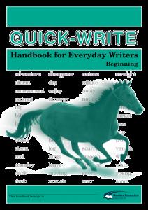 Quick-Write: Everyday Writers: Beginning (Set of 5)