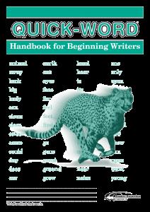 Quick-Word: Beginning Writers (Set of 5)