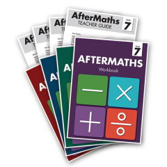 AfterMaths Workbook + Teacher Guide Set: Years 4-7