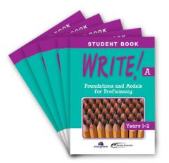 WRITE! Student Book A (Years 1-2): Set of 5