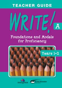 WRITE! Teacher Guide A (Years 1-2)