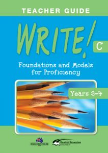 WRITE! Teacher Guide C (Years 3-4)