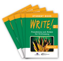 WRITE! Student Book D (Years 4-5): Set of 5