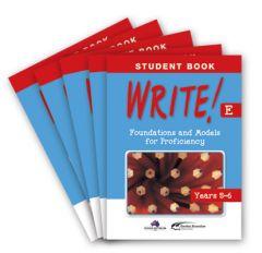 WRITE! Student Book E (Years 5-6): Set of 5