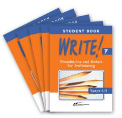 WRITE! Student Book F (Years 6-7): Set of 5