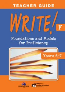 WRITE! Teacher Guide F (Years 6-7)