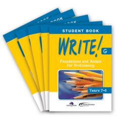 WRITE! Student Book G (Years 7–8): Set of 5