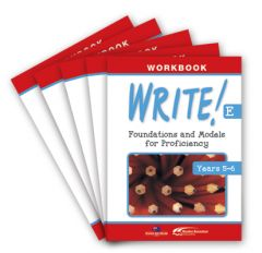 WRITE! Student Workbook E (Years 5-6): Set of 5