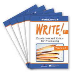 WRITE! Student Workbook F (Years 6-7): Set of 5
