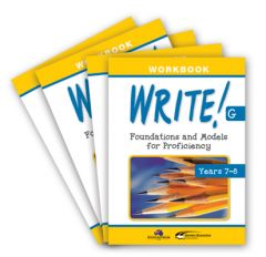 WRITE! Student Workbook G (Years 7-8): Set of 5
