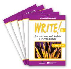 WRITE! Student Workbook H (Years 8-9): Set of 5