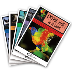 Extensions in Reading: Teacher Mixed Pack C-G