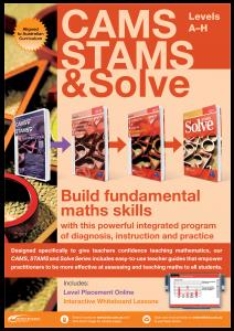 Catalogue: CAMS Plus, STAMS Plus & Solve
