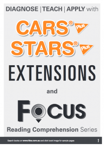 Catalogue: CARS Plus, STARS Plus, EXTENSIONS and FOCUS Reading Series