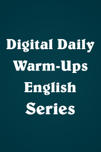 Digital Daily Warm-Ups: English Series
