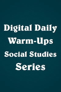 Digital Daily Warm-Ups: Social Studies Series