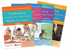 Challenging Australian Curriculum Maths Lessons