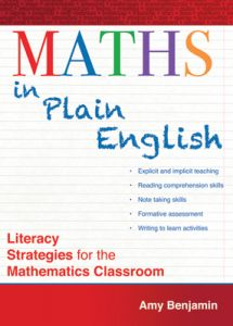 Maths in Plain English: Literacy Strategies for the Mathematics Classroom