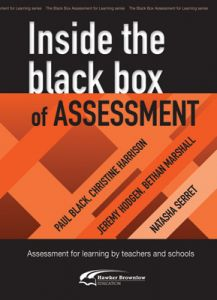 Inside The Black Box of Assessment