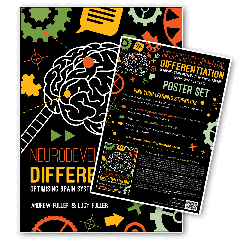Neurodevelopmental Differentiation Book and Poster Set