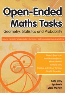 Open-Ended Maths Tasks: Geometry, Statistics and Probability