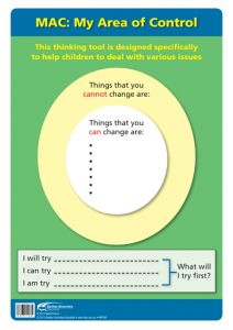 Poster: The Thinking School Tool: MAC