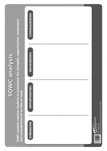 Poster: The Thinking School Tool: SOWC