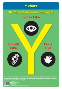 Poster: The Thinking School Tool: Y Chart