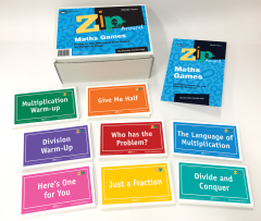 Zip-Around Maths Games: Ready-to-use, Interactive Card Games for the Whole Class